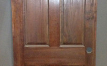 #11 six panel solid core Door